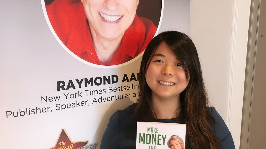 Elizabeth Abols, a 19-year-old Humber Business Administration student, published her first book entitled