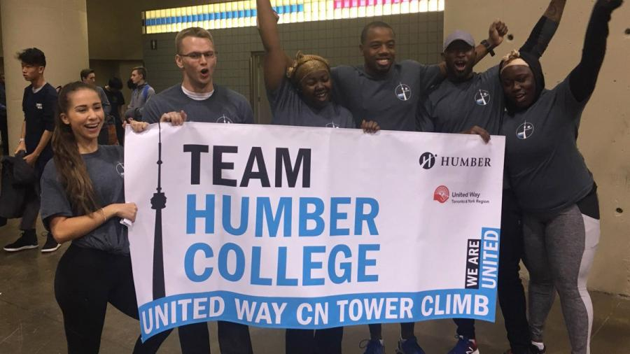 FYE at United Way CN Tower climb