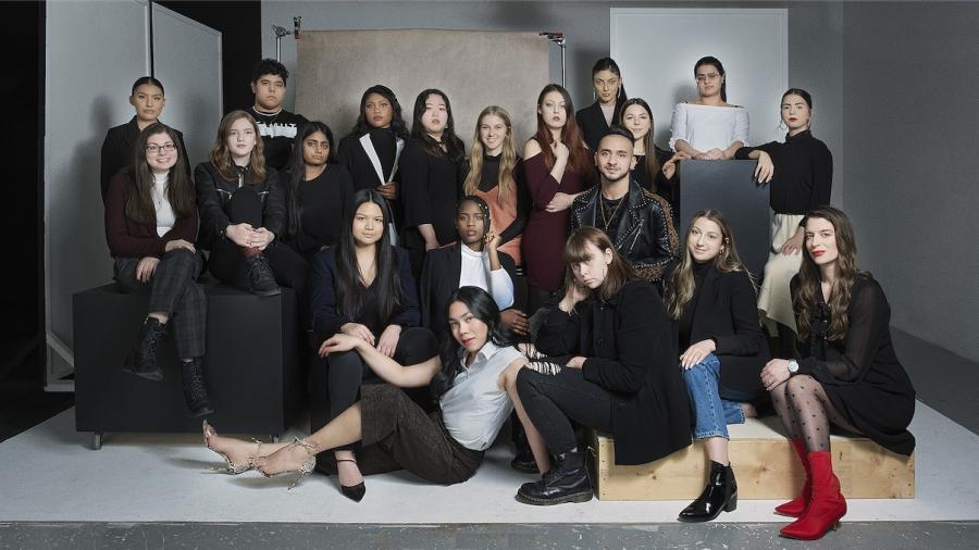 Humber's Fashion Arts and Business class of 2020