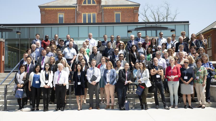 Global Forum attendees from around the world
