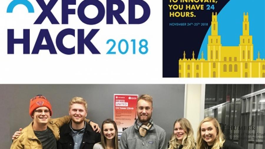 Oxford Hack rebrand materials