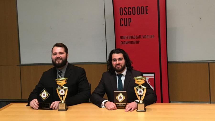Humber Paralegal students shine at Mooting competition