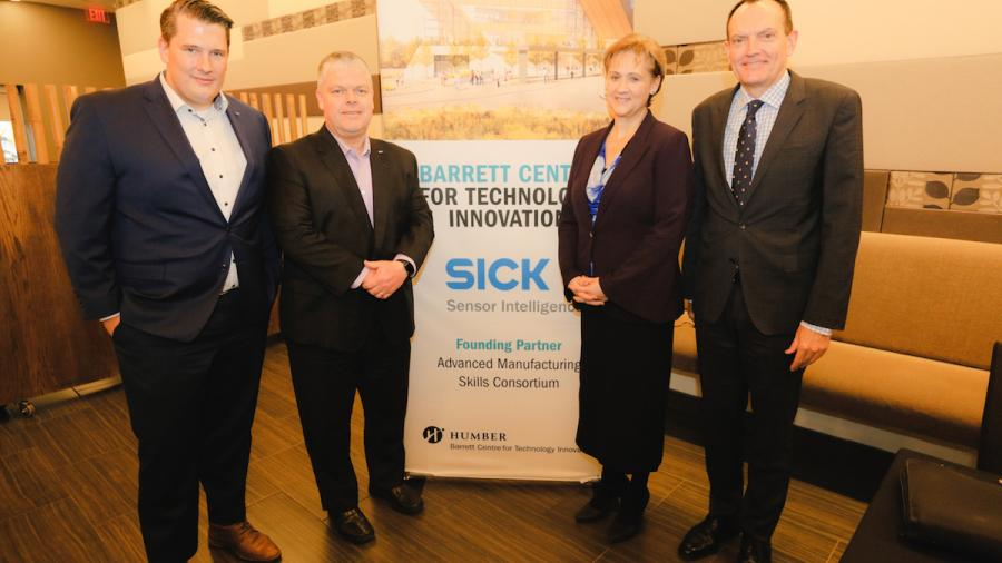 Signing a partnership agreement with SICK