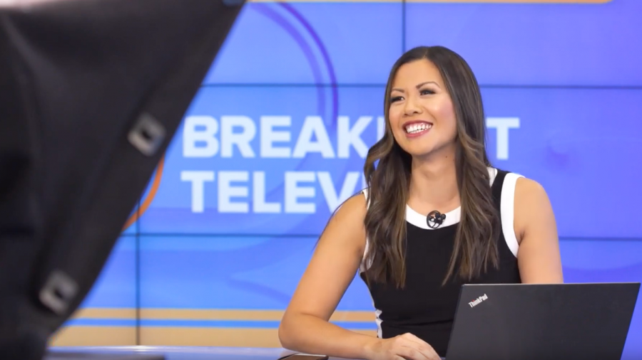 Humber alumna Melanie Ng is one of the hosts of Breakfast Television