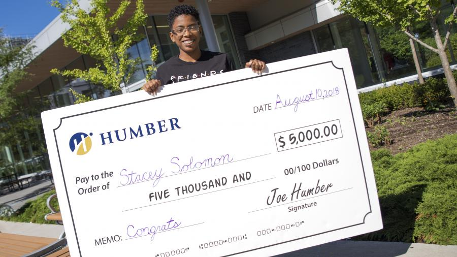 New Humber student wins tuition contest