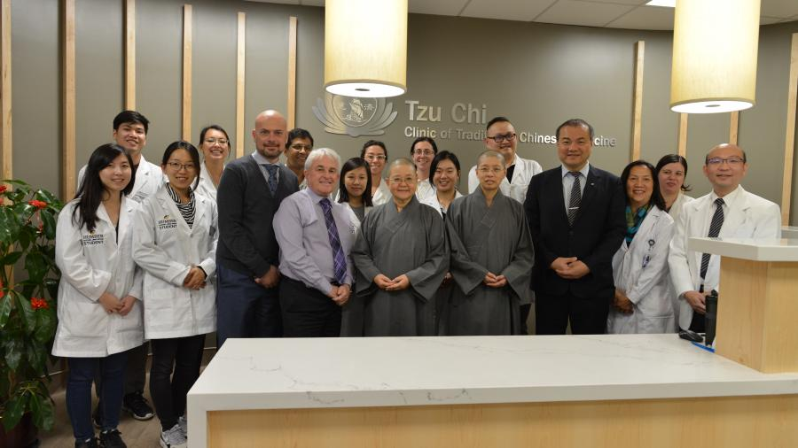 The Tzu Chi Foundation provides first installment of $100,000 for awards an scholarships for Humber students