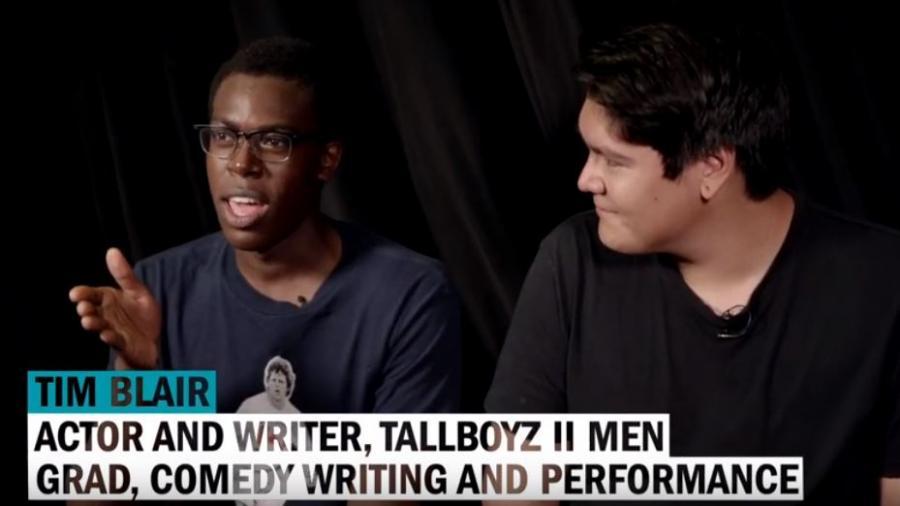 TallBoyz II Men- Tim Blair and Vance Banzo