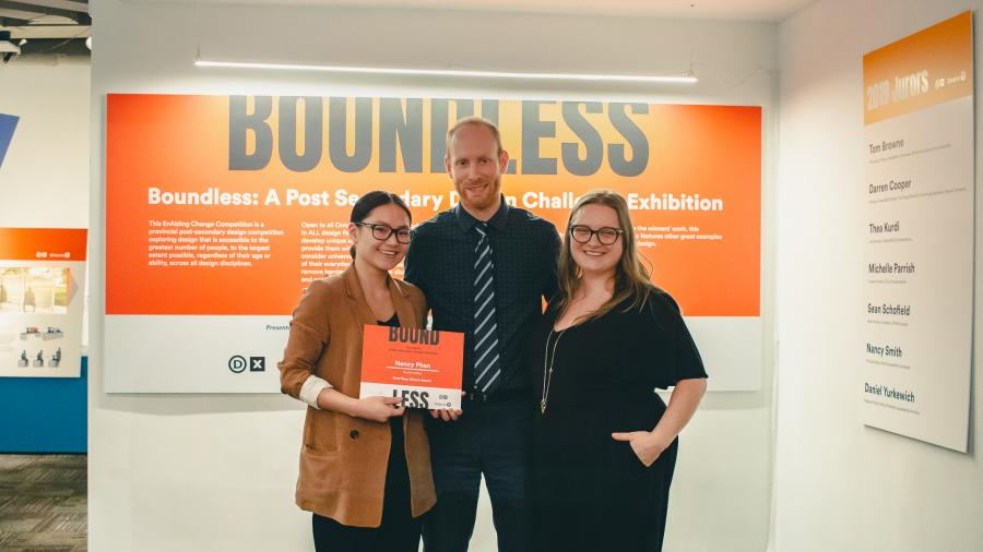 Design Exchange BOUNDLESS competition winners
