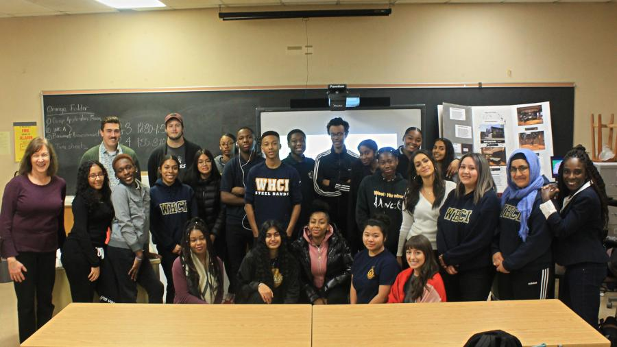 Humber students share mediation skills with West Humber Collegiate Institute students