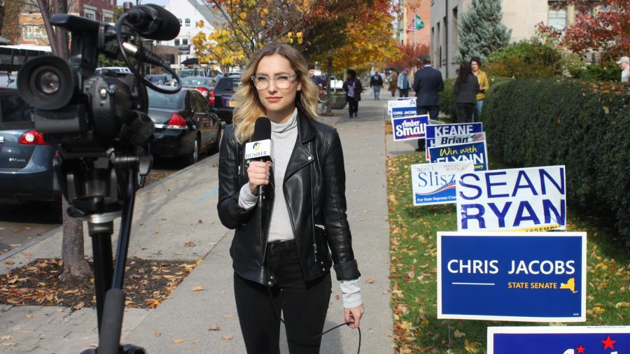 A Humber journalism student covers the 2016 U.S. election