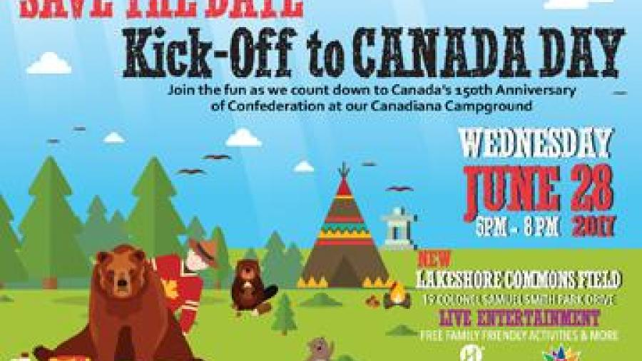 Humber Kick-off to Canada Day event