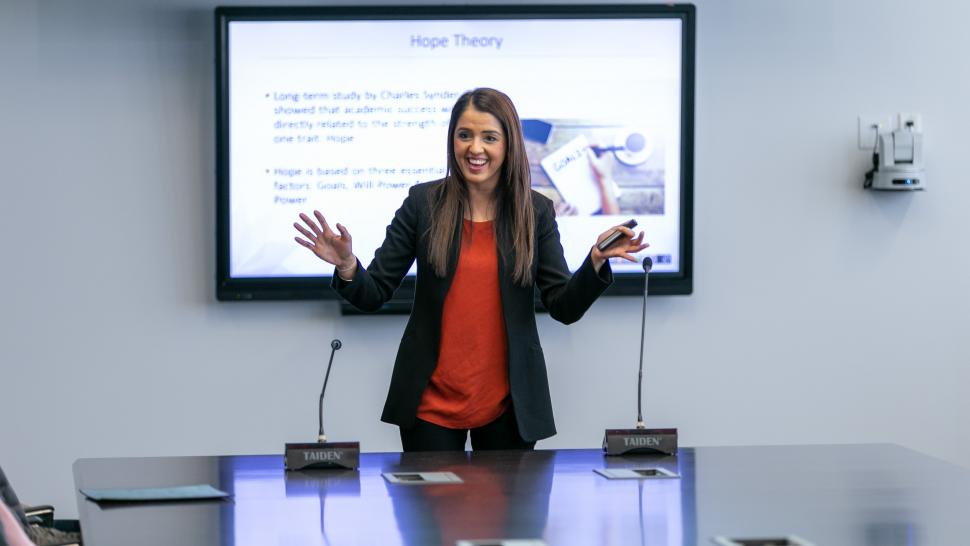 Take Our Kids to Work day with Humber alumna, Rumeet Billian