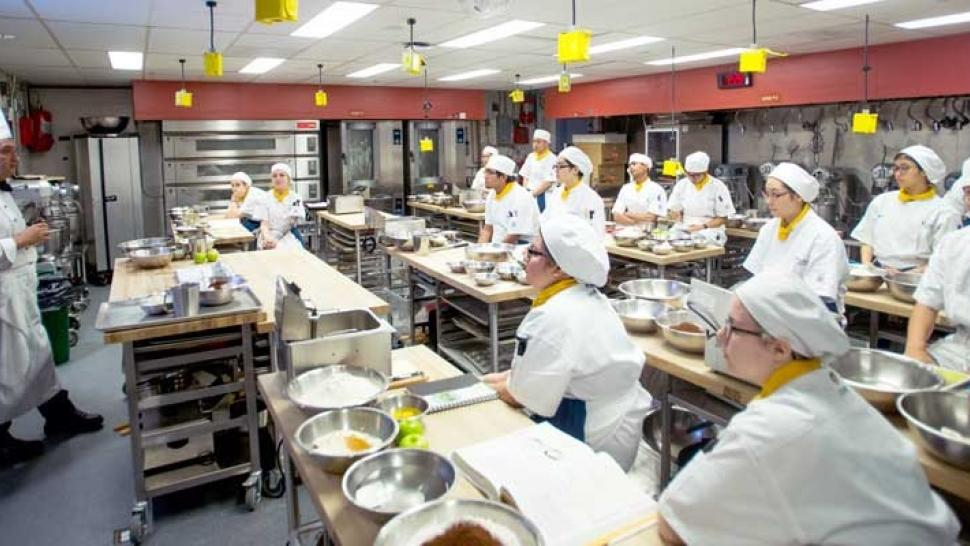 Baking and pastry lab