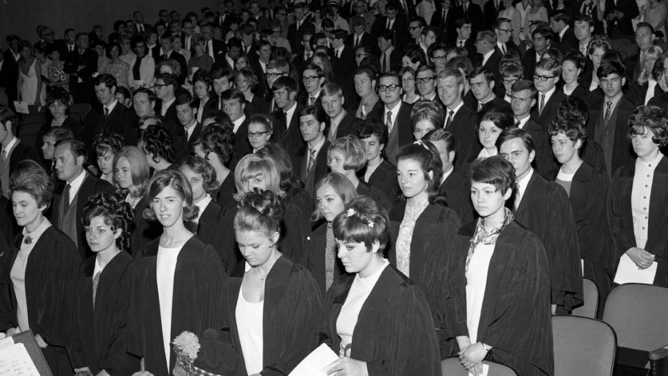 Humber's first convocation, 1968