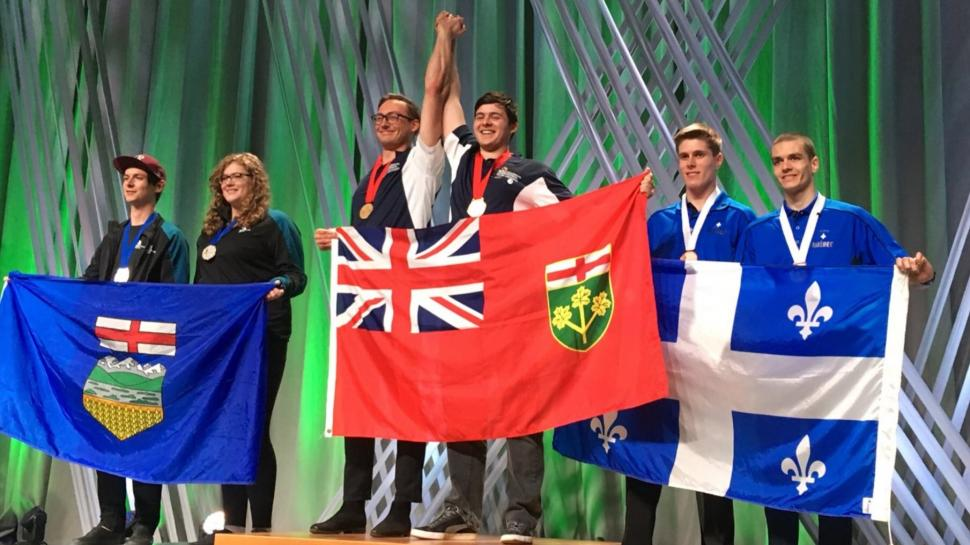 Humber students win big at Skills Canada competition