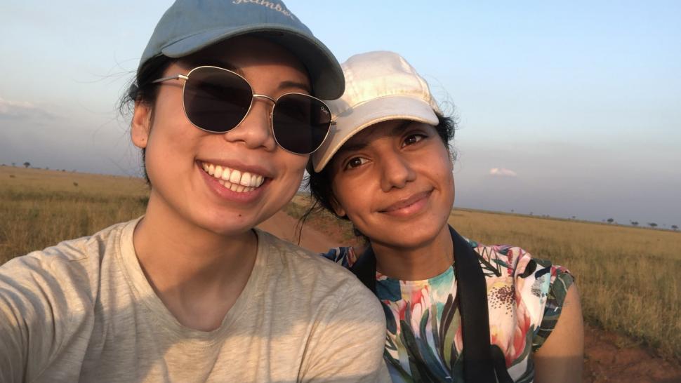 Lucy Lau and Harmony Multani