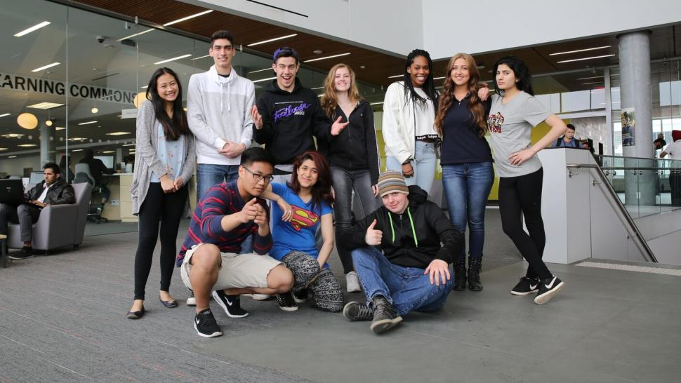 foundations and pathways students at Humber