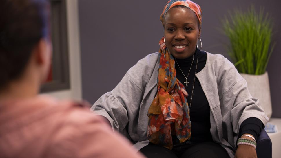 Deon Ambersley took Humber's Wellness Coaching program to enhance her career