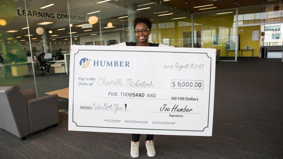 Humber tuition contest winner