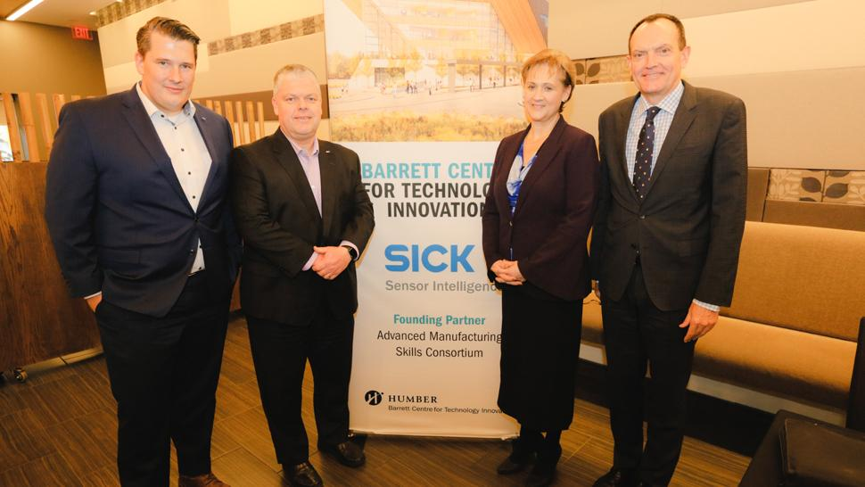 Humber and SICK sign a three-year partnership agreement