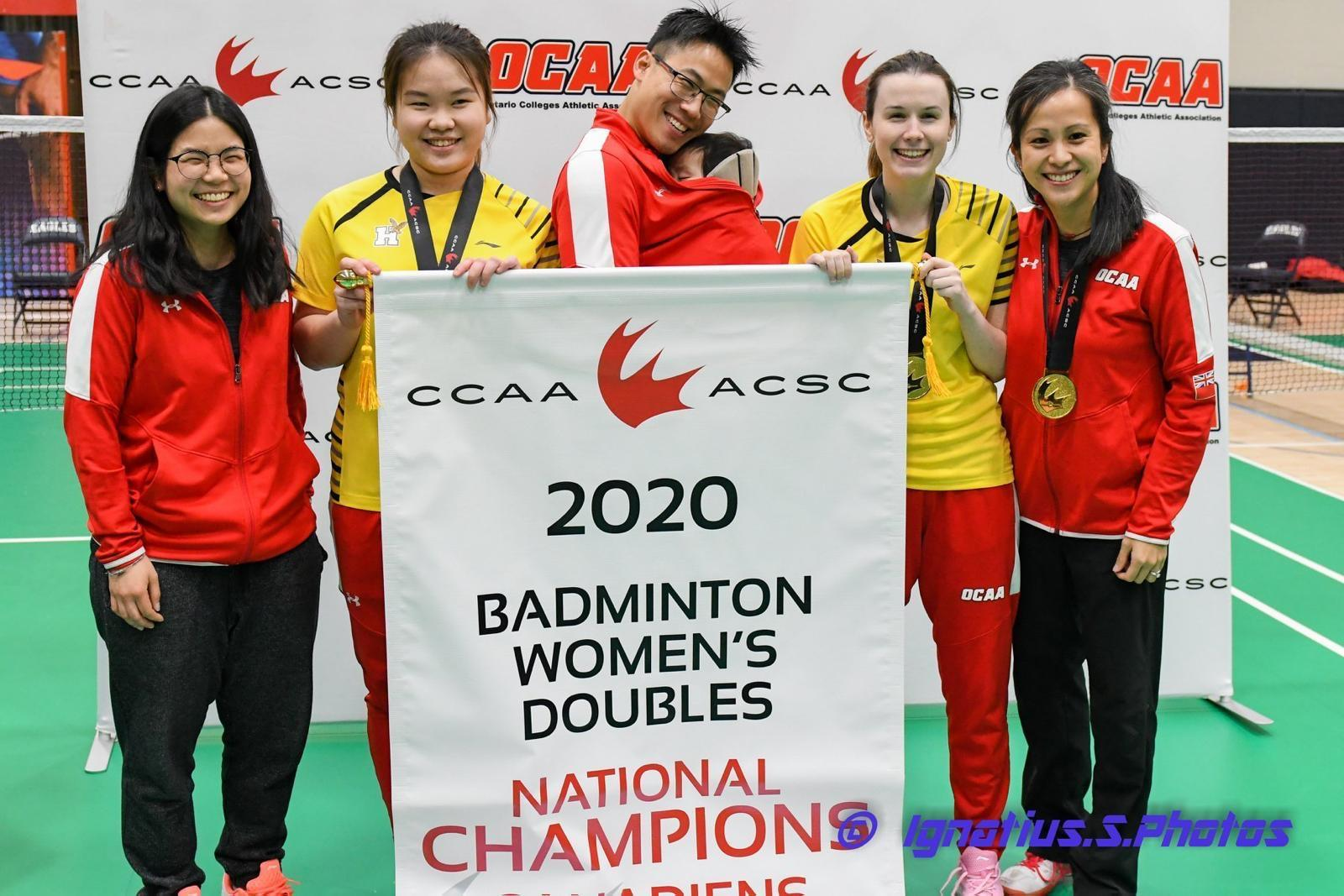 Humber Hawks badminton