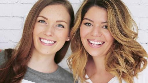 Kelsey MacDermaid and Becky Wright, YouTube stars The Sorry Girls