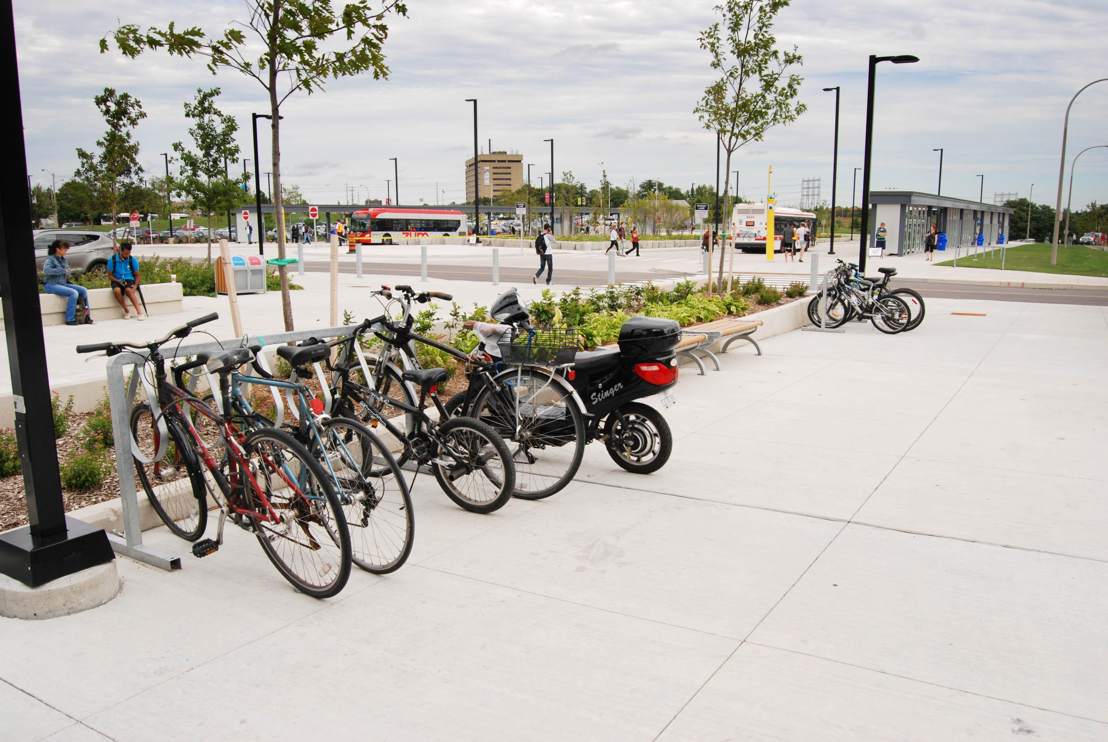Plan a green commute to campus