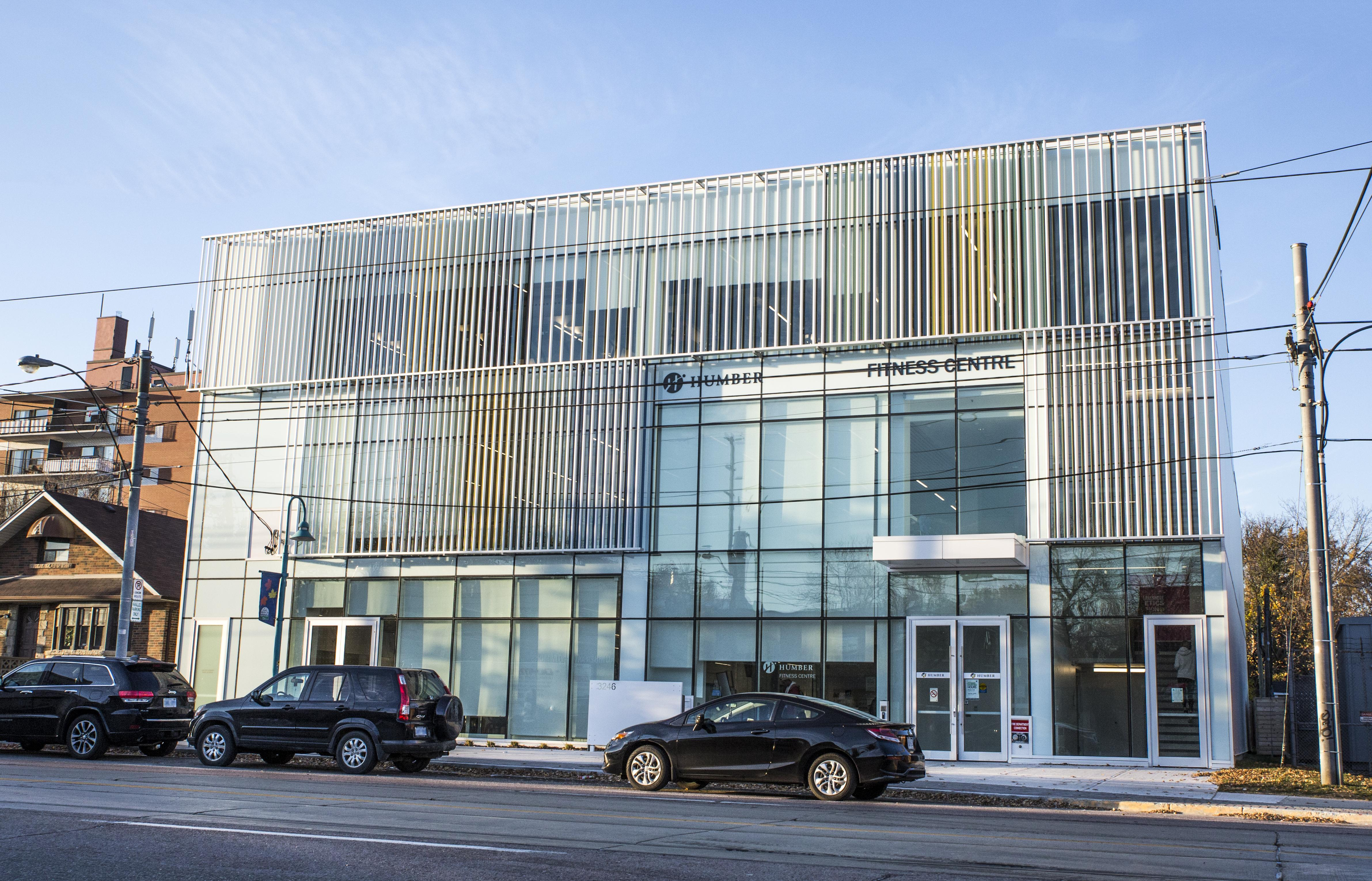 The new Humber Lakeshore Fitness Centre