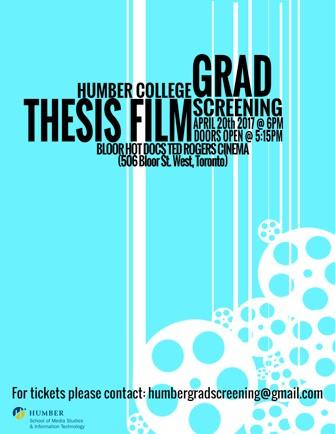 Thesis Film Screening