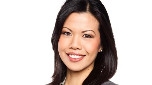 News anchor and reporter Melanie Ng
