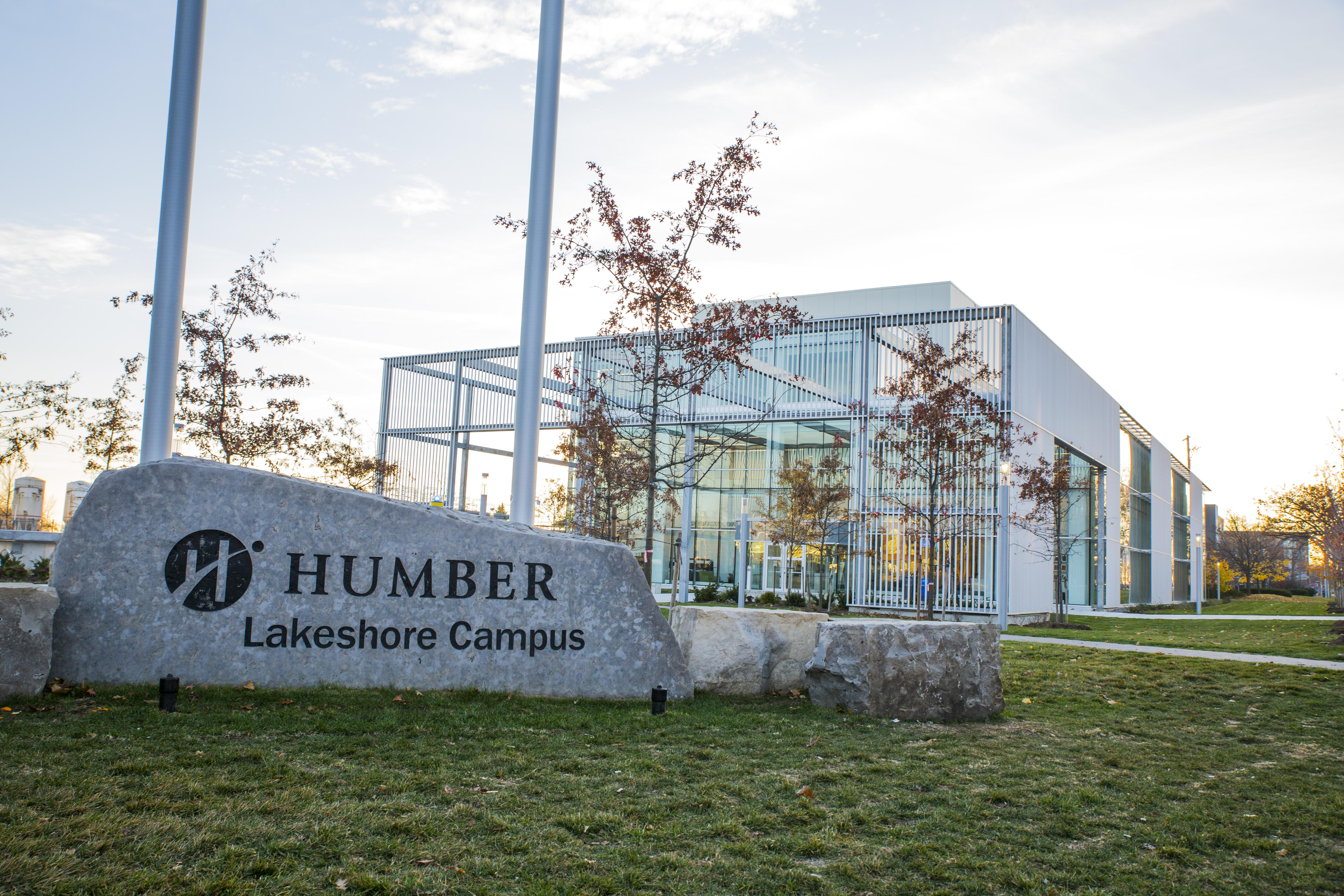 The new Humber Lakeshore Student Welcome and Resource Centre