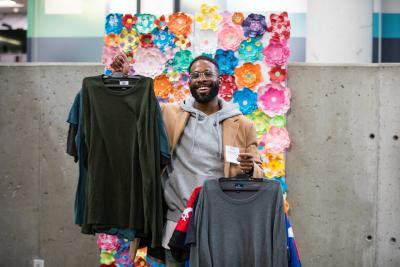 Students, staff and influencers attend Humber's Eco Closet event