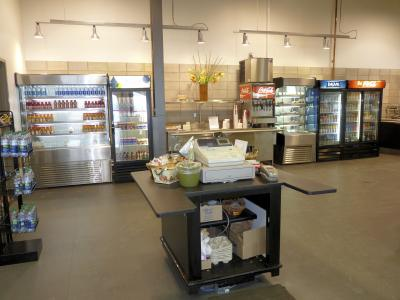 GlobalMedic is using the cafeteria at 110 Carrier Drive