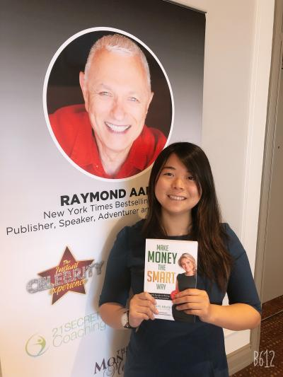 Elizabeth Abols, a 19-year-old Humber Business Administration student, published her first book