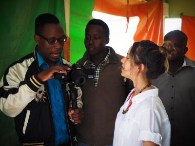 Film and media students produce documentary in Kenya