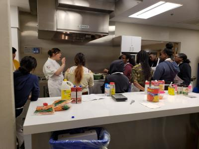 Master Cooks of Etobicoke train with Humber pastry chef