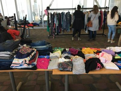 Humber hosted a Slow Fashion Marketplace on March 25