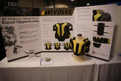 A previous year's Industrial Design capstone project
