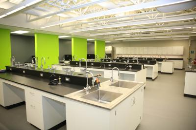 Humber College science lab