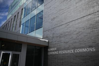 The LRC at Humber College North Campus