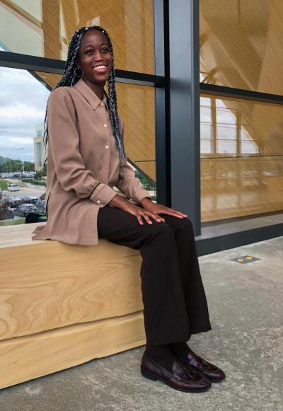 Sedina comeback trend as identified by Humber Fashion Arts and Business student