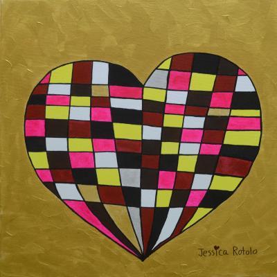Jessica Rotolo's heart art