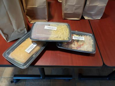 packed meals for students in need