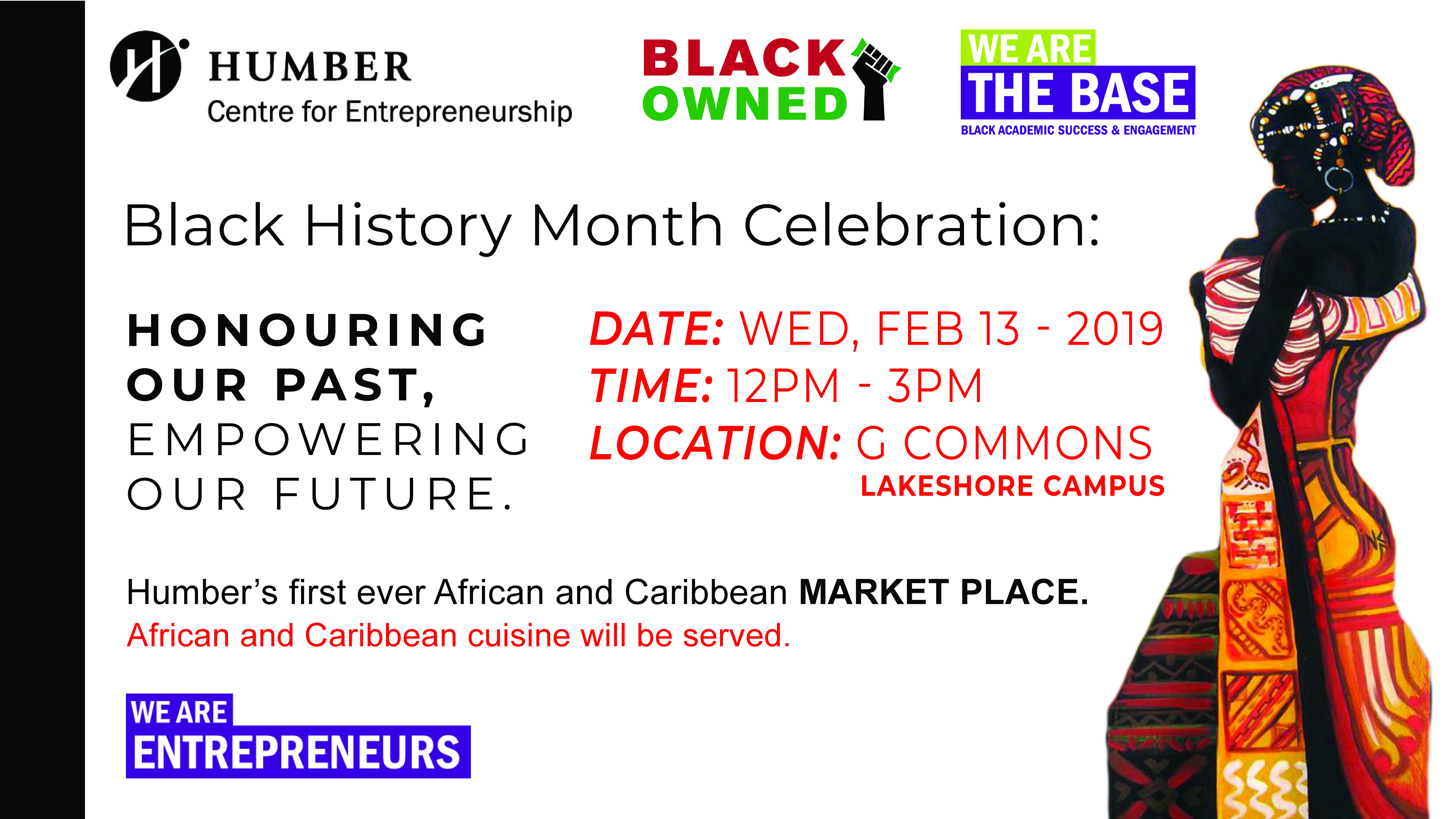 Honouring our Past, Empowering our Future - Black History Month Marketplace