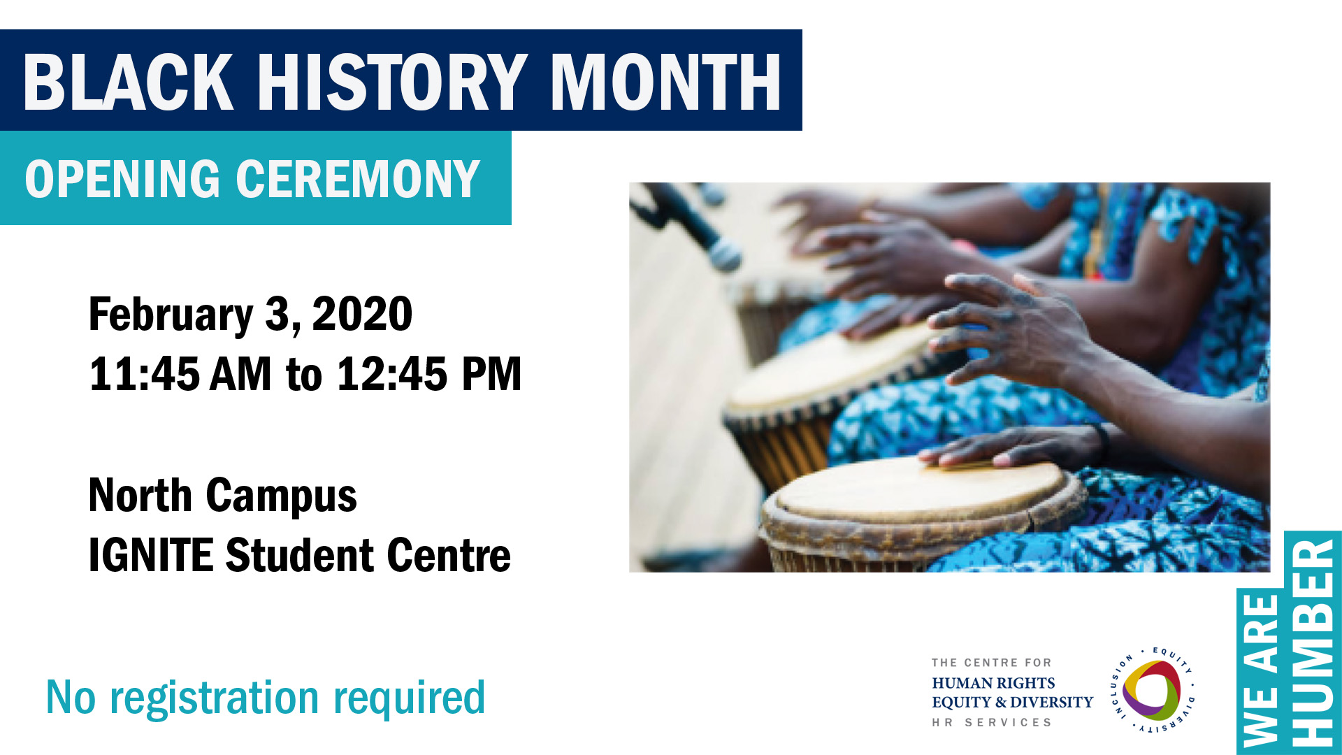 Black History Month at Humber College