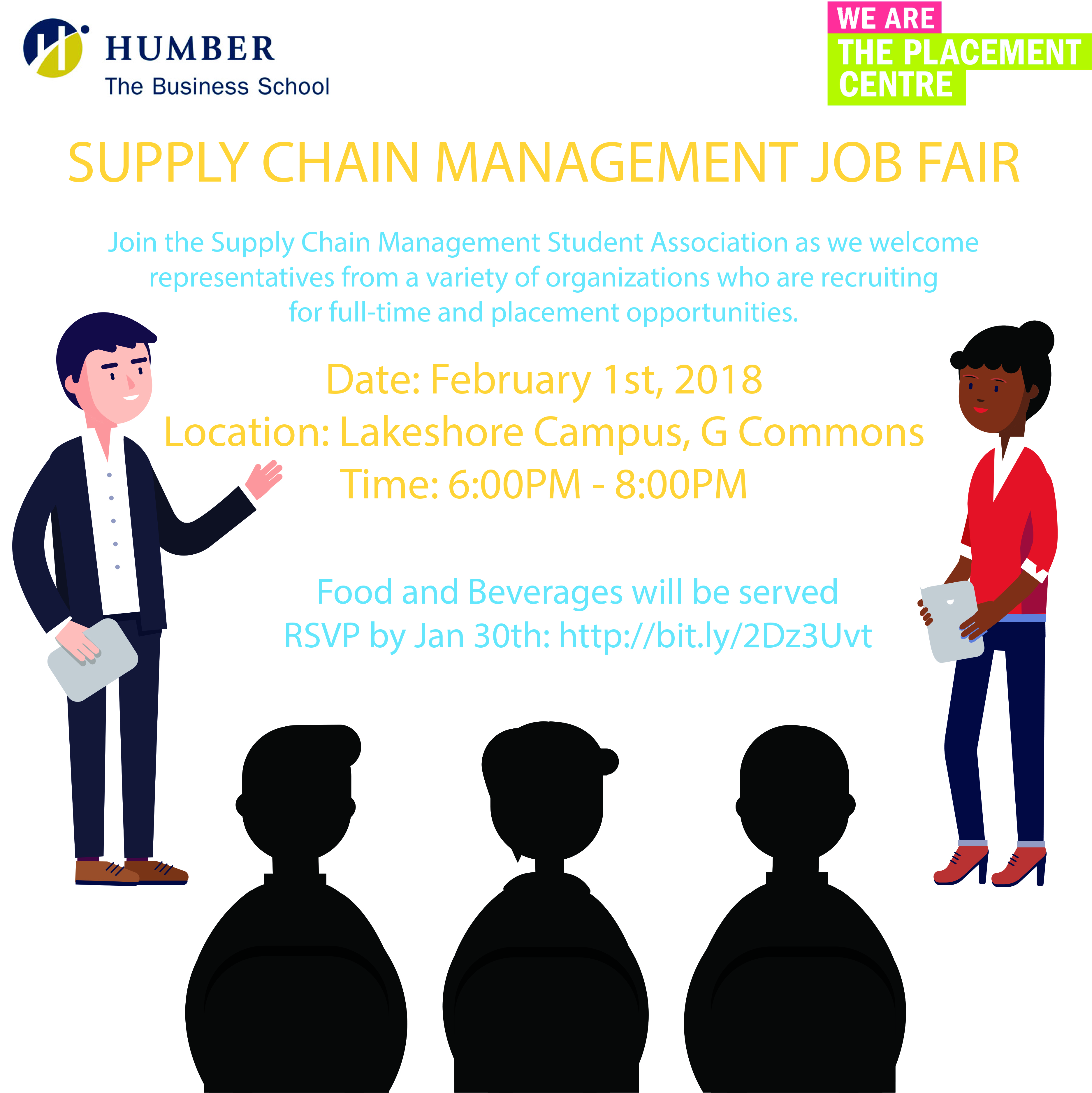 supply chain management job fair humber today. Black Bedroom Furniture Sets. Home Design Ideas