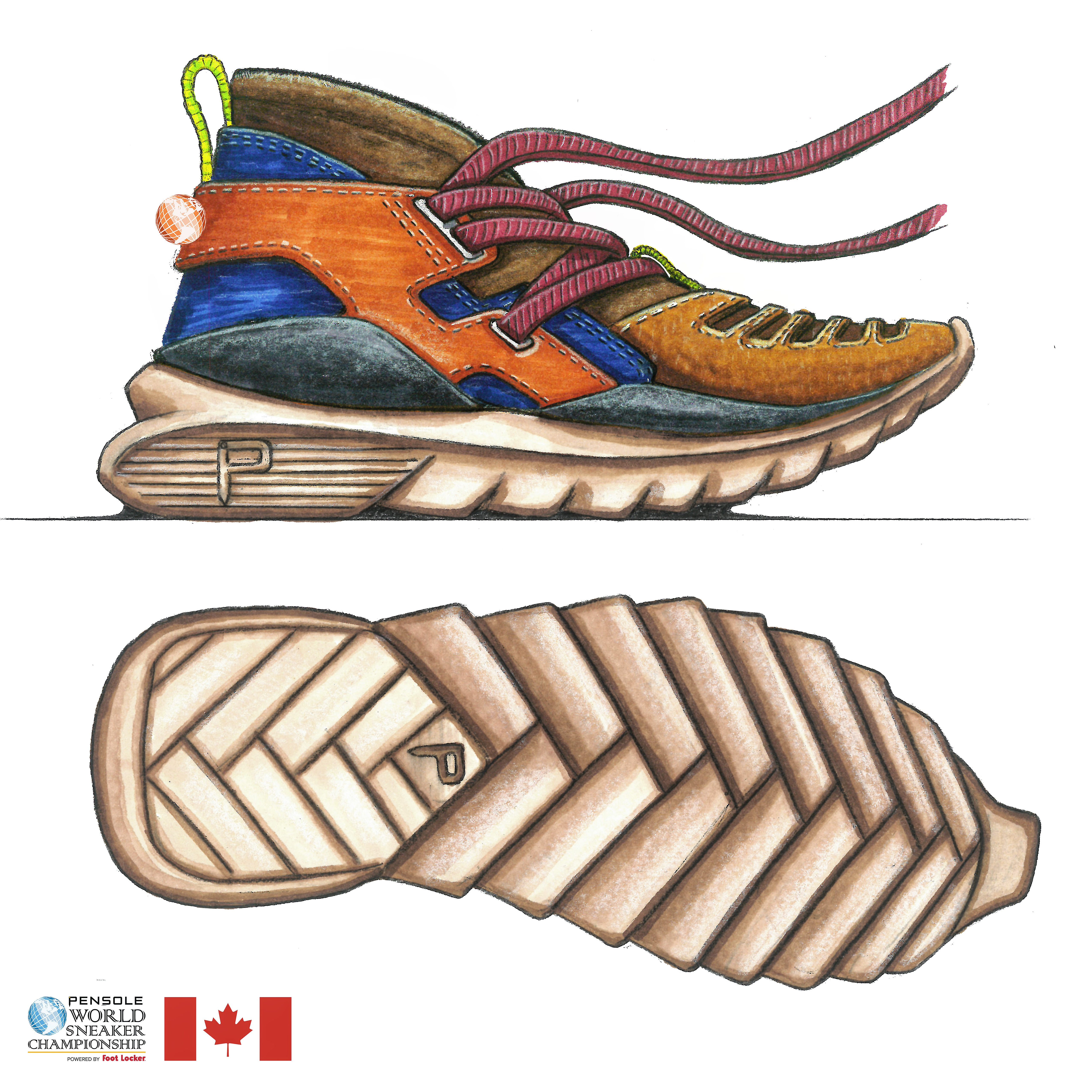 9bb428cbaa9 Vote to keep Humber student s shoe game strong